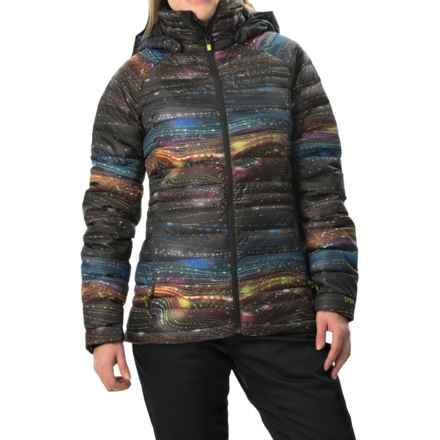 Burton [ak] Baker Down Jacket - 800 Fill Power (For Women) in Afterglow Print - Closeouts
